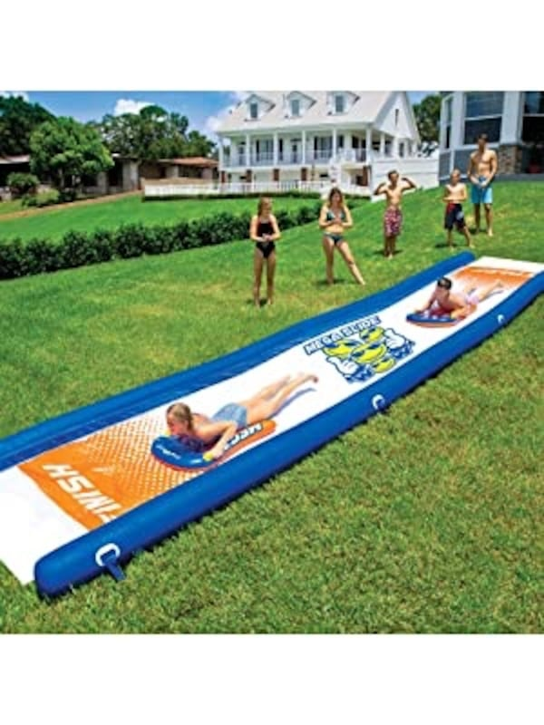 WOW Mega Water Slide 25′ x 6′  - FREE DELIVERY! 0