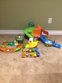 Toddler toy, Vtech go go zoo (2 animals need new batteries)  589 km