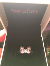 Pandora Minnie Mouse ring size 6 Frederick
