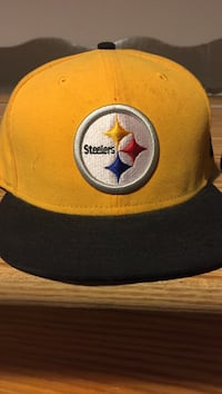 yellow and black Pittsburgh Steelers embroidered cap Rockford, 61109