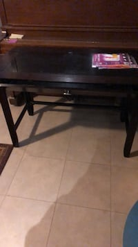 rectangular black wooden coffee table Toronto