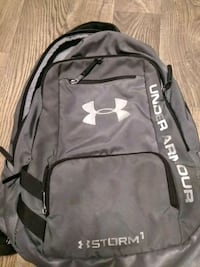 black and gray Under Armour backpack Fairfield, 45014