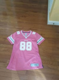 pink and white NFL jersey Mitchellville, 20721