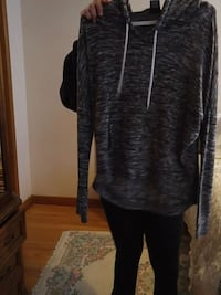 black and gray zip-up hoodie Toronto, M3N 1E4