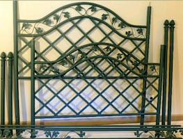 Wrought Iron King Size Canopy Bed