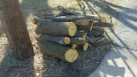 Free dry fire wood firewood logs fireplace log