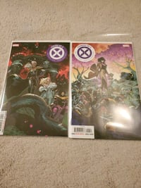 X-Men House of X #6 Powers of X #6 Main Covers 1st Print Mississauga