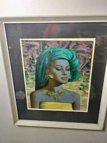 Tretchikoff print framed