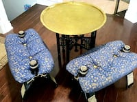 Egyptian set..Copper table with details of everything Egypt Mississauga