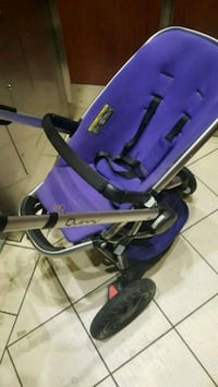 Quinny Buzz xtra baby's purple and black stroller Toronto, M3C