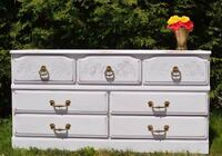 Solid wood dresser free delivery! Included  Ottawa, K1Y 2T1
