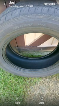 "4 gently used 17"" tires  Winchester, 22601"