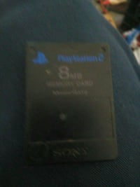 PlayStation 2 8mb memory card Glendale, 85302