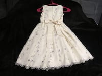 BEAUTIFUL WHITE ALL OCCASION DRESS ASKING $30.00 Hagerstown