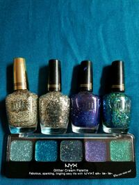 assorted color nail polish bottles Stanton, 90680