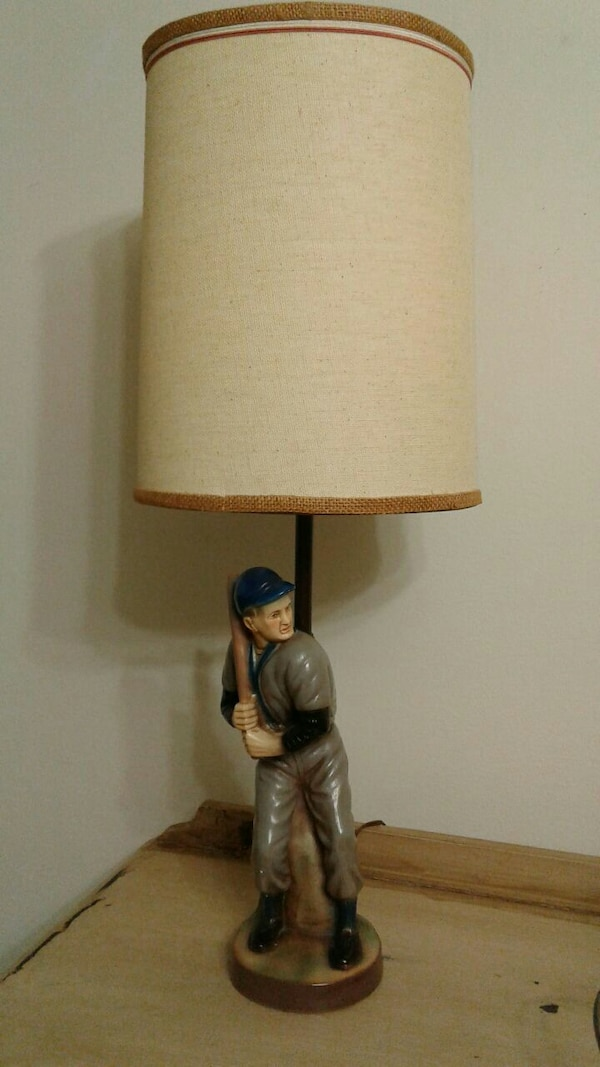 1963 quartite baseball lamp - Baseball Lamp