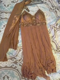 women's brown dress El Paso