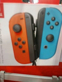 red and blue joy cons Layton