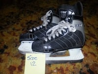 pair of black Adidas low-top sneakers with box Summerland, V0H 1Z1