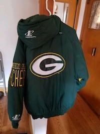 Womens med vintage greenbay packer jacket new Milwaukee, 53219