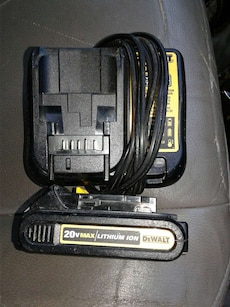 Dewalt battery and charger