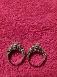 Sterling silver rings.  Sizes 8.5 and 9.5 Odessa, 14869