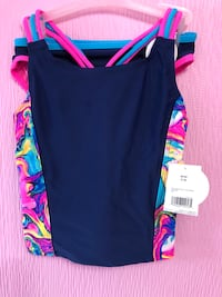 Brand New Girls 7/8 Two Piece Bathing Suit $5  Trenton, K8V 2X4