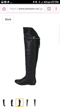 unpaired black knee high boot screenshot Huron East, N0K 1W0