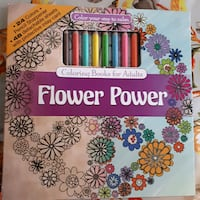 Coloring book with coloring pencils and sharpener Chilliwack, V2R 0E7