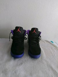 pair of black-and-purple Air Jordan shoes Las Vegas, 89102