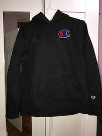 black Champion pull-over hoodie