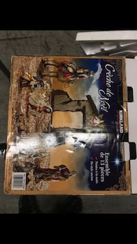 Kirkland signature 13 piece Jesus Christmas display Rare hand painted Miami, 33176
