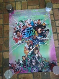 Suicide Squad Official Movie Poster Ocean Springs, 39564