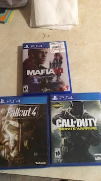 3 ps4 games 25 for all three Schenectady, 12302