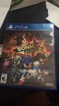Ps4 sonic forces game Fayetteville, 72703