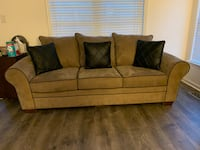 Trevor Sofa with Leather Pillows Elkridge, 21075