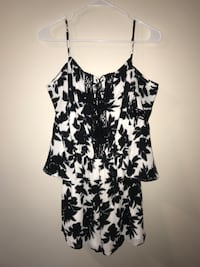 Black and white floral romper Marlborough, 01752