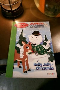 Rudolph the Red-Nosed Reindeer jumbo coloring and  Akron, 44312