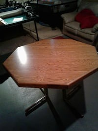 brown wooden octagon table River Grove, 60171