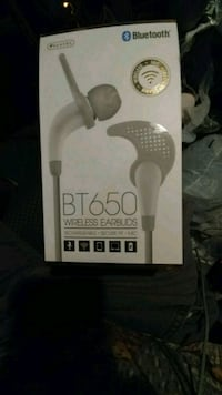 Sentry bt 650 bluetooth rechargeable earbuds...