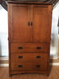Media center / Armoire - Oak San Antonio, 78247