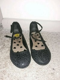 Black girls slippers size 1 Roswell, 30076
