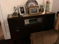 Furniture piece with record ayer and radio Laval, H7P 2W4