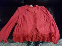 red button-up cardigan Biloxi, 39531
