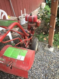 Troy built rear tine Rototiller with a Tecumseh engine SEATTLE