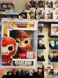 Funko pop beast man flocked Manassas Park, 20111