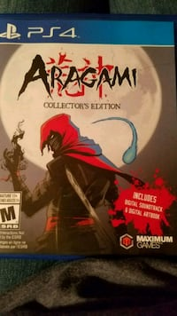 Aragami collector's Edition/PS4 445 mi