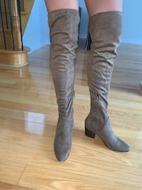 Aldo beige thigh high boots  Vaughan, L4J 9B4