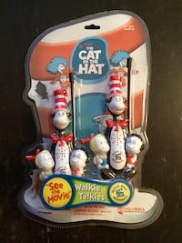The cat in the hat walkie talkies  Brand new and very rare Ajax, L1S 2S7