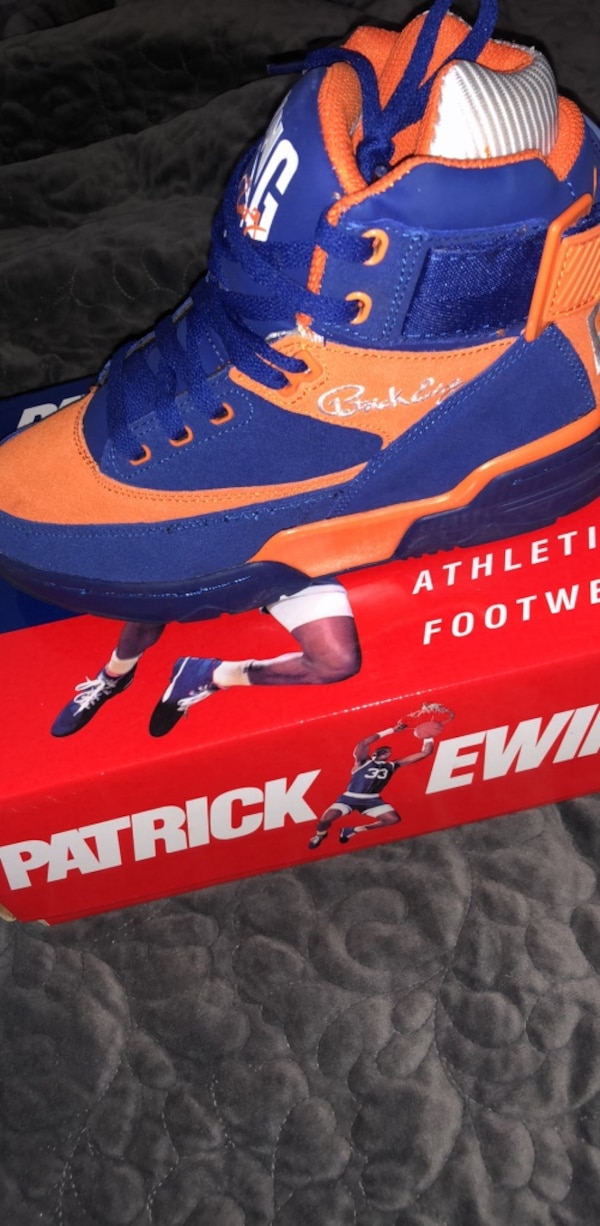 5495f6b8cfb343 Used Patrick Ewing Sneakers Size 6 for sale in New York - letgo